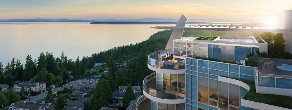 high end homes white rock